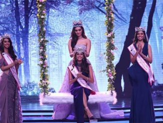 Anukreethy Vas is Femina Miss India 2018